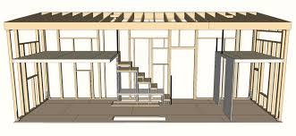 Small Picture Tiny Houses Plans Diy Cabin Plans With Loft Section Tiny House