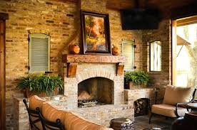 brick fireplace ideas outdoors brick contemporary