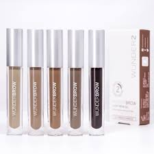 Wunderbrow Shades Chart Wunderbrowextra Long Lasting Eyebrow Gel 4 8 Star Rating 4664 Reviews
