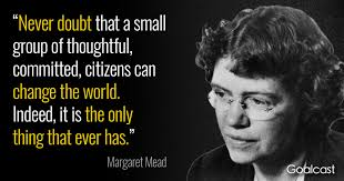Social Change Quotes Interesting Margaret Mead Quote On Social Change Goalcast