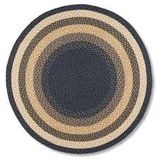 country gold round braided jute rug