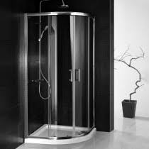 Curved Shower Enclosures Uk X Double Door Quadrant Throughout Inspiration