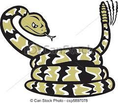 rattlesnake clipart. Plain Rattlesnake Cartoon Rattlesnake  Csp5897078 In Clipart