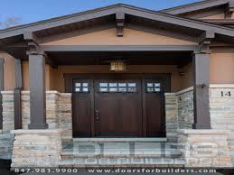 Prairie style exterior doors, craftsman style house plans ...