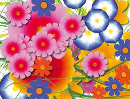 colour grants from real flowers