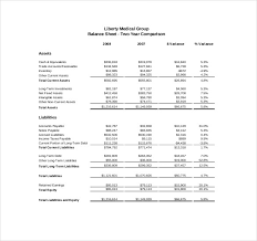 Free Financial Statements Templates 24 Financial Report Templates Free Sample Example Format