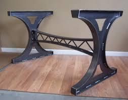 Industrial Mechanical Steel Trestle Dining Table Bar Island Etsy