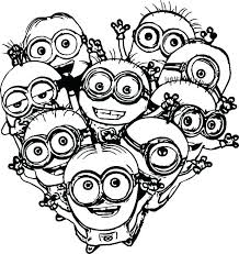 Minions Coloring Book Vfbi Minions Coloring Pages Pdf Minion