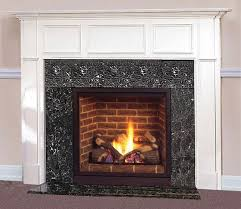 new overland park marble fireplace with white trim adds to old home look and feel