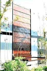 outdoor wall fountains patio fountain modern waterfall clearance fo