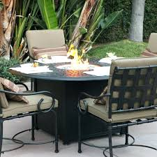 durango tall fire pit table high top patio with awesome furniture new furni