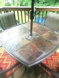 slate patio table slate patio table replacement tiles for patio table slate patio table original glass slate patio table