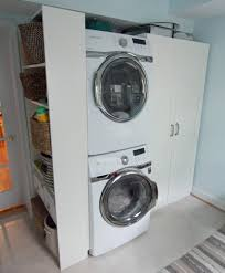 stacking samsung washer and dryer. Simple Dryer Stacking Samsung Washer And Dryer Open Up Space For An Ikea PAX Wardrobe  Billy Bookcase Intended Washer And Dryer