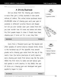 Edit Paragraphs Worksheet Worksheets for all | Download and Share ...