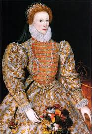 elizabeth i daughter of henry viii and anne boleyn became queen of england in 1558 with her pale plexion and curly red hair she perfectly personified