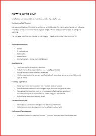 How To Write Up Resume For An Internship Objective College Job In
