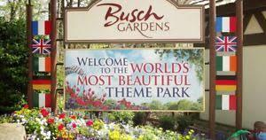 busch gardens williamsburg deals. Wonderful Williamsburg Image Is Loading BUSCHGARDENSWILLIAMSBURGVIRGINIATICKETS65APROMO And Busch Gardens Williamsburg Deals
