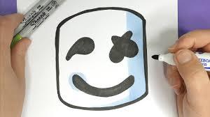 Einfache zeichnungen zeichnen leicht gemacht. Kawaii Marshmello Zeichnen Einfach Youtube