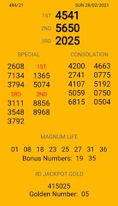 หวยมาเลย์งวดวันอาทิตย์ที่ 28 กุมภาพันธ์ 2564 (484/20) – Zcooby.com