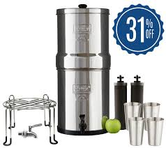 Diy berkey water filter Freestanding Today Am Finally Going To Share All The Ins And Outs In This Berkey Water Filter Martha Stewart Berkey Water Filter Review Farmhouse On Boone