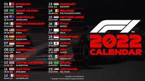 F1 2022: nel nuovo calendario da 23 gare ci sono Imola e Monza! - Infomotori