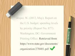 Simple Ways To Cite Government Documents In Apa 11 Steps