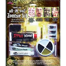 amazon family size all in one zombie kit costume makeup toys games