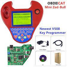 ใหม่ล่าสุดV508 Super Smart Mini ZedBullรถTransponderการเขียนโปรแกรมMini  ZedกระทิงNo Tokensข้อจำกัดสำเนาชิปอ่านPinรหัส|car code|key code carcode pin  - AliExpress