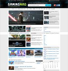 Newspaper Website Template Free Download 57 Best Gaming Html Website Templates 2019 Talkelement