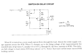 time delay electronic circuits page 2 switch on delay circuit schematic