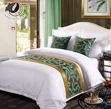 hotel quality customized bed runners