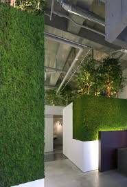 eco office. Captivating Baton Beauty Salon Japan By Atelier Vertical Green Walls In Commercial Interior Office Style Eco Cleaning