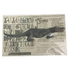 Designer Paper Placemats Belle Banquets Designer Paper Placemats Alligator Vintage