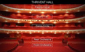 Grandel Theatre Seating Chart Thrivent Financial Hall View From Your Seat Orchestra
