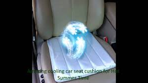 cooled office chair. How To Cool Your Car Seat Office Chair In Seconds Self Cooling Cushion - YouTube Cooled E