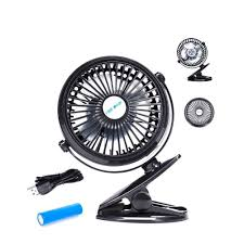 2017 Best USB Desk Fan Portable Rechargeable Battery Operated Mini ...