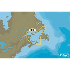 Na Y936 Gulf Of St Lawrence Chart C Map Max N C Card