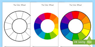 Color wheel and geometric forms combinations. Color Wheel Color Mixing Activity Teacher Made
