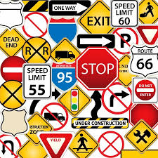 Nc Dmv Road Signs Chart 2019 Road Signs Test Online Road Sign Practice Test