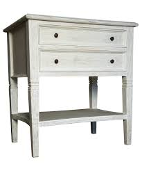 White Wood Coffee Table With Drawers Side Table Maine White Wooden Bedside Table With 3 Drawers For