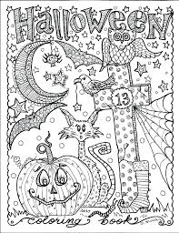 Fun Halloween Coloring Pages Printable Cute Coloring Pages Funny ...