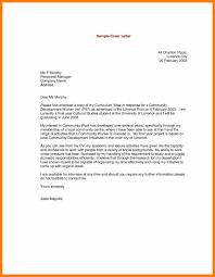 Presentation Letter Examples Good Resume Format