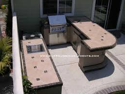 another view of outdoor kitchen on left item isl10b catalina outdoor kitchen with barbecue sink