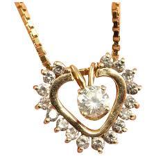 dainty diamond necklace delicate diamond necklace dainty pendant necklace diamond heart necklace diamond heart pendant bridal