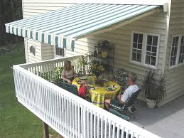 sunair awning extended image motorized awnings for decks64
