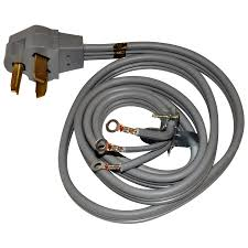 shop whirlpool® 4 foot 3 wire 30 amp dryer cord at lowes com whirlpool® 4 foot 3 wire 30 amp dryer cord