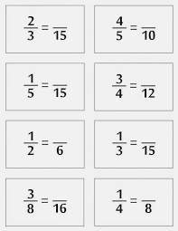 Relentlessly Fun, Deceptively Educational: Equivalent Fractions ...