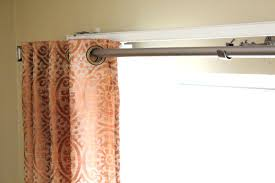 installing curtain rods over vertical blinds hanging curtain rods over sliding glass door to install vertical
