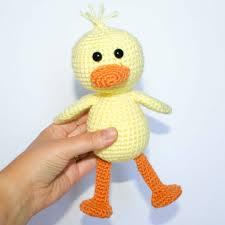 Crochet Duck Pattern