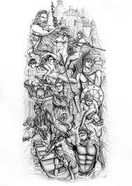 Greek Gods By Lornakelleherart греческие боги по Lornakelleherart